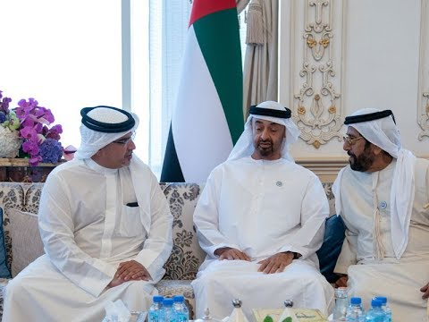 HRH Crown Prince meets HH Crown Prince of Abu Dhabi