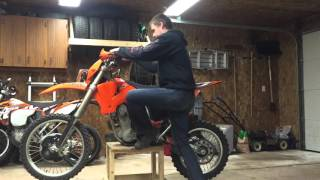 9. 2003 KTM 525EXC for sale