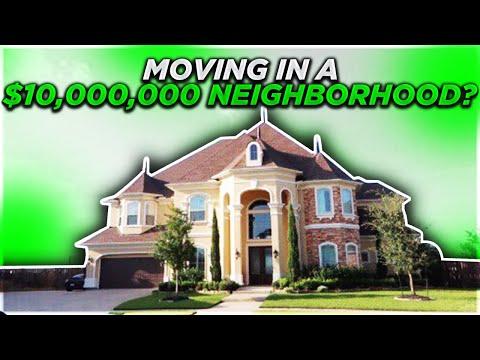 MOVING IN A 10 MILLION DOLLAR NEIGHBORHOOD (видео)