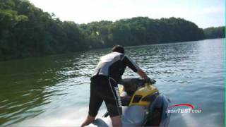 7. Yamaha FZS 2010 reviews Waverunner  - By BoatTest.com