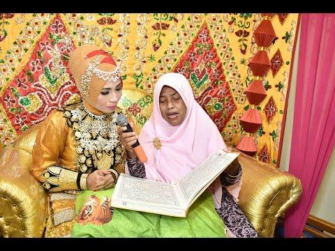 rini & jihad wedding #khatam qur'an