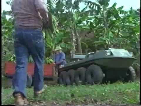 Vehículo Anfibio ARGO 8×8 – El mejor  Vehículo Anfibio todo terreno – ARGO ATV