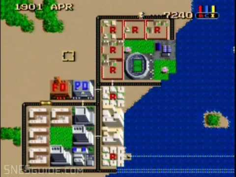 simcity super nintendo codes