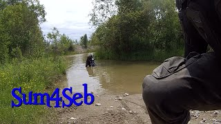 6. Suzuki DR650 going for a Swim 2015 |¦| Sum4Seb Motorcycle Video