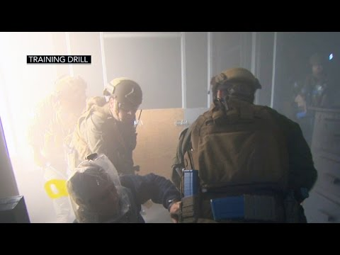 State Department's diplomatic security agents train to survive fires