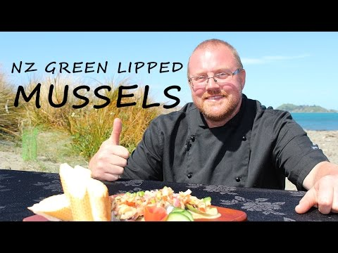 How To Cook Green Lipped Mussels (beach To Bbq)