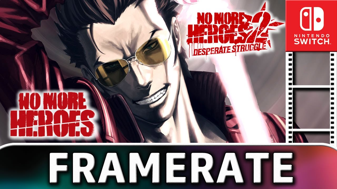 No More Heroes 1 & 2 | Nintendo Switch Frame Rate Test