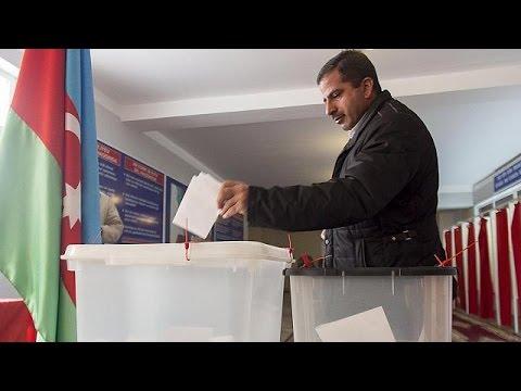 Αζερμπαϊτζάν: Σαρωτική νίκη του Αλίγεφ