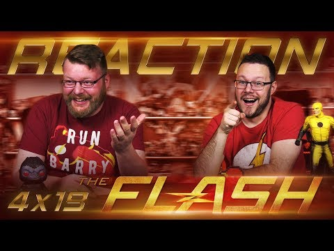 The Flash 4x19 REACTION!!