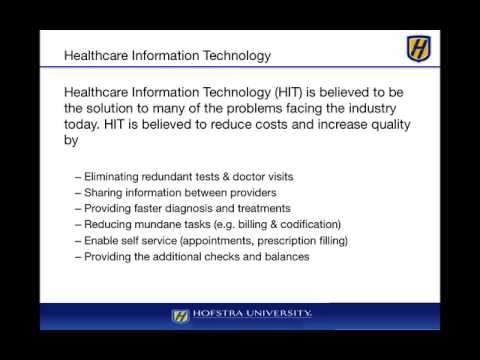 Module 1 - Healthcare Information Technology