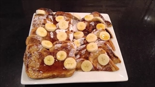 Hey yawl, would you help me reach 20,000 subscribers by sharing my recipes and videos with family, friends and wherever you are active on social media. If you like my videos other people will too. This French toast recipe is delicious and simple. It is fun to bring the kids into the kitchen with you to help prepare this. Learning and lots of fun for kids and whole family.French Toast10 Slices French, Italian (or any Bread)2 to 4  Eggs (depends on how many you are cooking for)1 & 1/4 Cup Milk or Heavy Cream1 tsp. Cinnamon1 & 1/2 tsp. Vanilla1/2  tsp, Allspice1/2 tsp. NutmegDash of SaltButter for GriddleSyrup4 Bananas1/4 cup White Confectioners Sugar for sprinkling