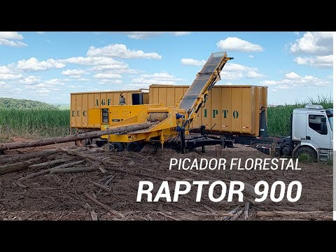 Picador florestal compacto de alta performance