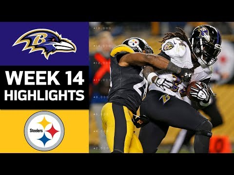 Ravens vs. Steelers | NFL Week 14 Game Highlights (видео)