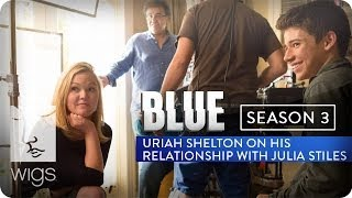 """Uriah Shelton answers Facebook fan Joe Schuster question: You and Julia have such terrific chemistry as mother and son. What sort of work did you do, either in rehearsal or aside from rehearsal, to develop these characters who have a relationship that seems to have such natural depth and even nuance?""""BLUE"""" Season 3 now live in its entirety on Hulu.Watch """"Blue"""" from the beginning: http://wigs.ly/1gFAMNHSign up for WIGS email updates here:http://wigs.ly/13F0tJpLike us on Facebook: http://wigs.ly/NY4TlgFollow us on Twitter: http://wigs.ly/SUi368About """"Blue"""": Blue is a mother with a secret life. She'll do anything to keep it from her son. But her past has other plans.Starring: Julia Stiles, Carla Gallo, Alexz Johnson, Daren Kagasoff, Brooklyn Lowe, James Morrison, Jane O'Hara, Kathleen Quinlan, Uriah Shelton, Laura Spencer, Eric Stoltz, Jacob Vargas• Julia Stiles - Winner, IAWTV Award for Best Female Performance - Drama (2013 and 2014)• Rodrigo Garcia - Winner, IAWTV Award for Best Director - DramaAbout WIGS:Breaking new ground with award-winning scripted dramas for the digital age.General Inquiries: info@watchwigs.comPress: press@watchwigs.com"""