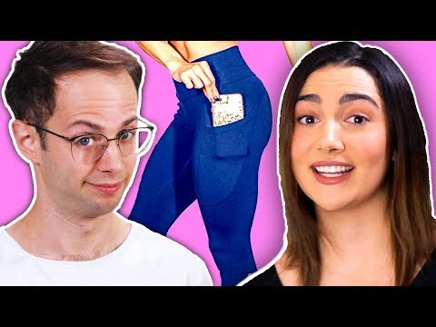 The Try Guys Wear Women's Pants (feat. Safiya Nygaard)