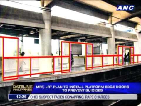 LRT - MANILA, Philippines -- Rail transit authorities are planning to install steel doors along the platform edges of their stations to prevent people from committ...