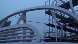 La visita a MSC Seaside al cantiere di Fincantieri a Monfalcone. Siamo saliti sulla nave ancora in costruzione per cominciare a conoscerne le caratteristiche principali.