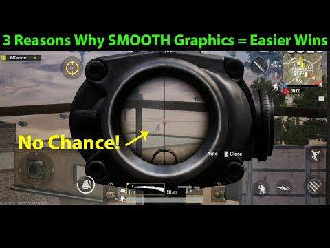 3 Reasons Why SMOOTH GRAPHICS Means EASIER WINS In PUBG Mobile (Especially After 0.5.0 Update)