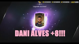 FIFA Online 3 - '14 Dani Alves Upgrade to +8 (OMG FINALLY!!!!!!!!), fifa online 3, fo3, video fifa online 3