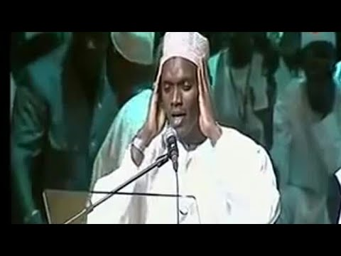 Muhammad Hady Toure, hafidh from senegal Imitates Quran Recitation of Qari Abdul Basit Abdul Samad