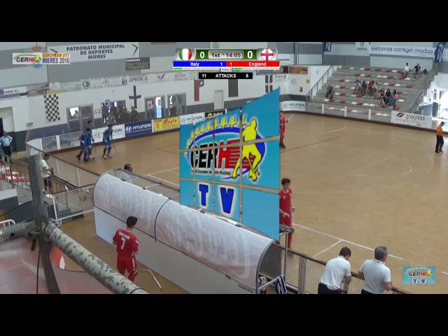 Italy-England | 5th/8th Place Semi-Finals | Euro U17 Mieres 2016 | Game #23
