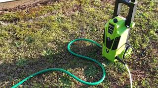 Video Earthwise 1650 psi pressure washer real review MP3, 3GP, MP4, WEBM, AVI, FLV Juli 2018