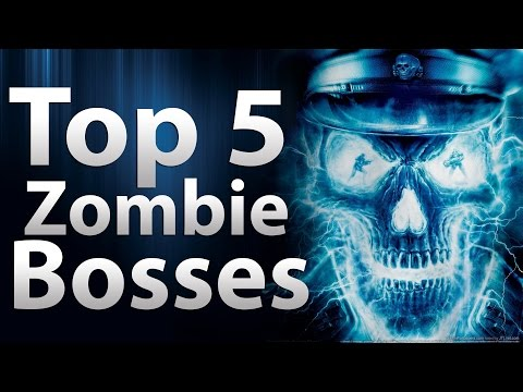 'TOP 5' Zombie Bosses in Call of Duty 'Zombies' - Black Ops 2, Black Ops & World at War Zombies