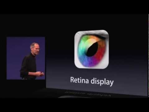 Retina - For who don't know what a Retina Display is.