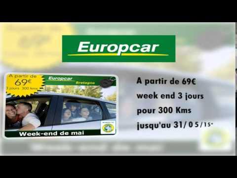 Promotions location voitures week end en mai
