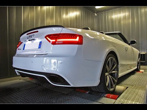 Shiftech Tuned Audi RS5 V8 w/ Armytrix Cat-Back Valvetronic Exhaust