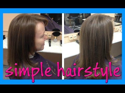 Простые стрижки длинные волосы
