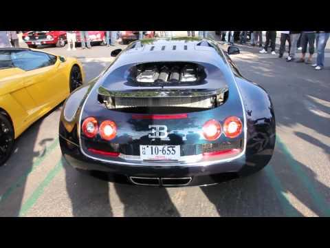 Bugatti Veyron Super Sport START UP and DRIVE!