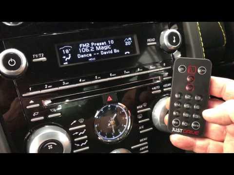 Aston Martin DAB Radio upgrade