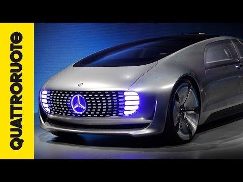 mercedes f015: l'auto del futuro!
