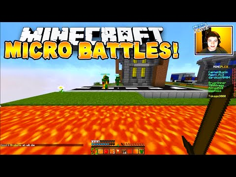 micro - Epic MICRO BATTLES VS ENEMIES! ▻ Click to never miss a video! http://bitly.com/PrestonPlayz -----------------------------------------------------------------...