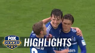 FC Augsburg vs. Hamburger SV | 2015-16 Bundesliga Highlights by FOX Soccer