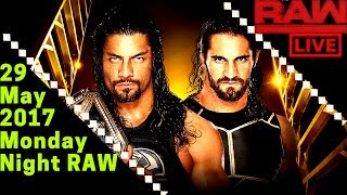 Nonton New Wwe Raw 29 May 2017 Full Show Wwe Monday Night Raw 5 29 17 Full Show  Hd Live Film Subtitle Indonesia Streaming Movie Download
