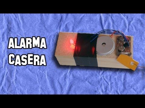 Como Hacer una Alarma Casera de Barrera   Experimentos Caseros