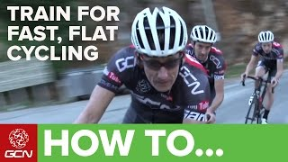 How To Train For Fast, Flat Cycling – Ride Your Bike Fast