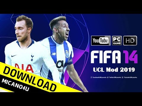 FIFA 14 | UEFA Champions League, World Cup Mod | Download & Install
