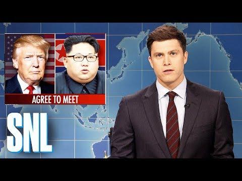 Weekend Update on Kim Jong-un Meeting with Donald Trump - SNL