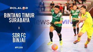 Video Bintang Timur Surabaya (6) - (1) SDR FC Binjai - Highlight Pro Futsal League 2018 MP3, 3GP, MP4, WEBM, AVI, FLV Februari 2018