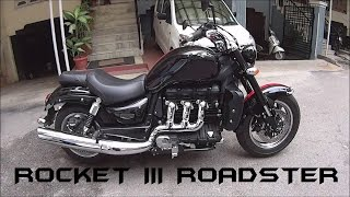 9. 2016 Triumph Rocket III Roadster Stock Exhaust Note/Walkaround