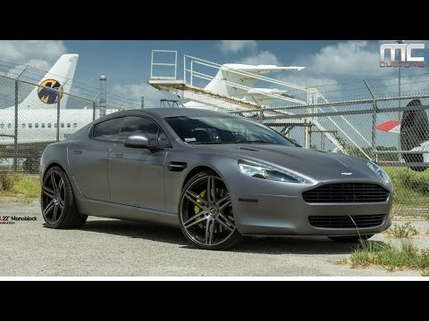 MC Customs | Vellano Wheels · Aston Martin Rapide