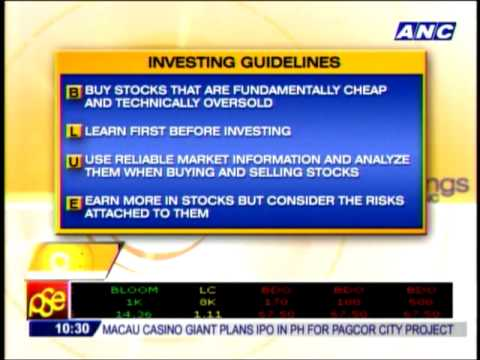Investing guidelines for beginners