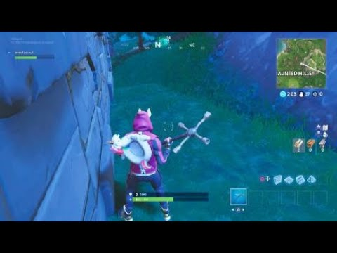 Fortnite_Week 4 battle star and follow the treasure map in snobby shores