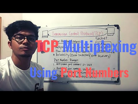 TCP Multiplexing Using Port Numbers