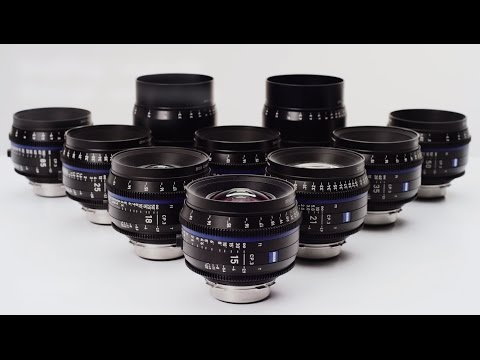 ZEISS Compact Prime CP.3 and CP.3 XD lenses