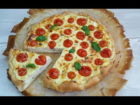 torta salata veloce con ricotta e pomodorini - ricetta