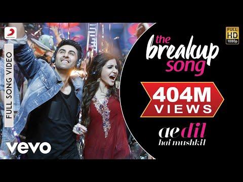 The Breakup Song Ae Dil Hai Mushkil Ranbir Anushka Pritam Arijit